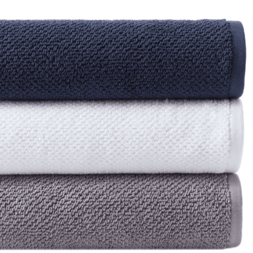 Pin Dot Terry White Towel Collection