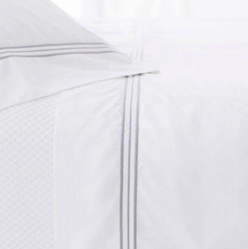 Trio Pearly Grey Flat Sheet