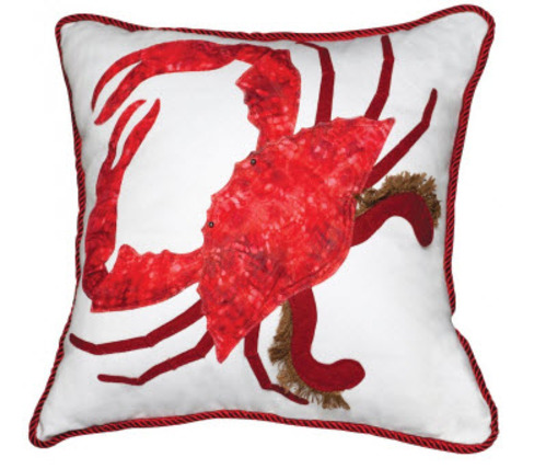 Red King Crab Indoor Pillow
