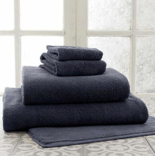 Signature Black Bath Towels