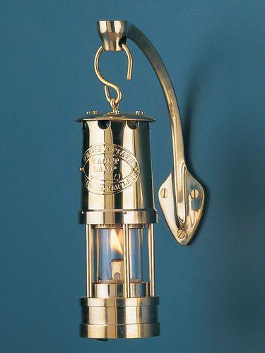 Small Chrome Yacht Oil Lamp
