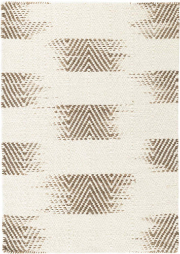 Tansy Camel Woven Wool Rug