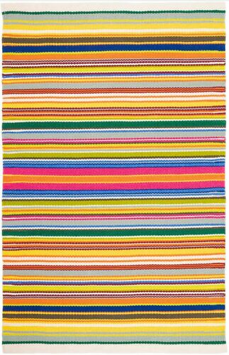 Tropical Stripe Multi Indoor/Outdoor Rug