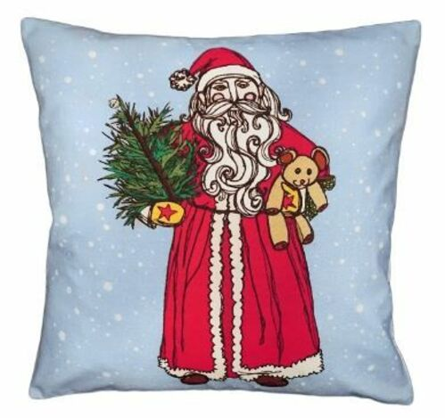 Vintage Santa Christmas Pillow