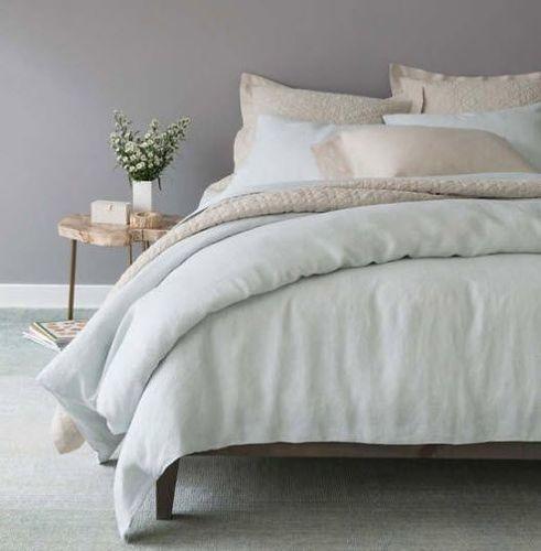 Washed Linen Natural Beige Quilt