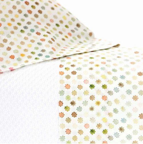 Watercolor Dots Pillowcase - Pair