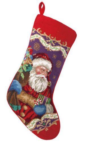 Xmas Santa Stocking<font color =a8bb35> Sold out</font>