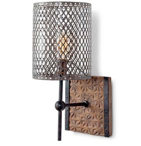 Artifact Wall Sconce with Pierce Shade