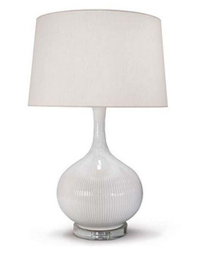 Ceramic Ivory Lamp