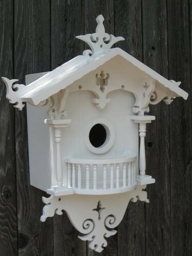 Cottage Birdhouse for Bluebirds