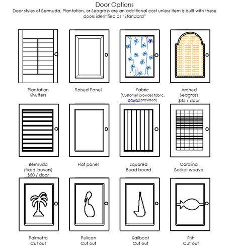 Four Drawer Plantation Cabinet