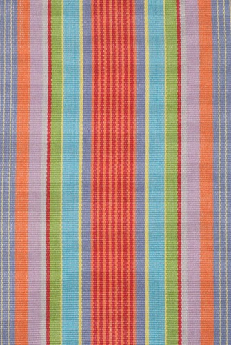 Garden Stripe Cotton Rug