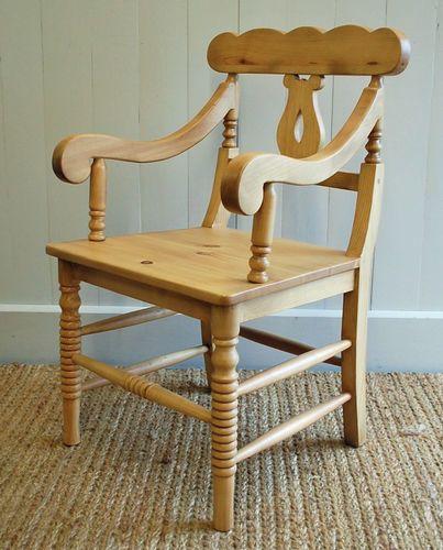 Coastal Cottage Host Chair