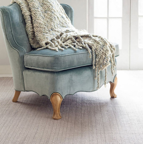 Chunky Knit Sea Mist Throw