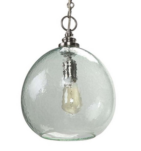 Recycled Glass Float Pendant Light