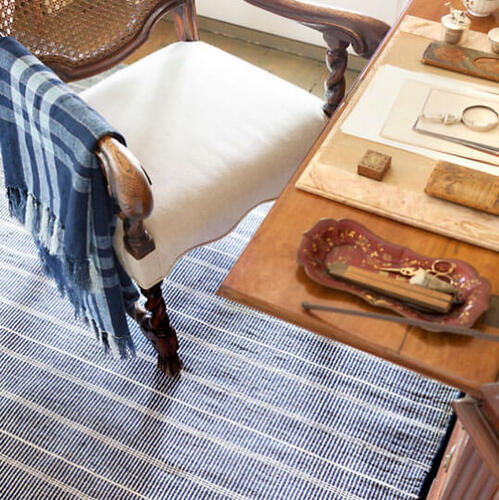 Samson Indoor/outdoor Rug in Navy<font color=a8bb35> 20% OFF</font>