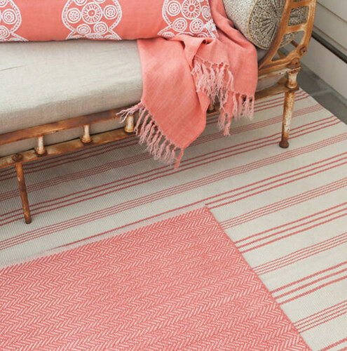 Skona Stripe Cotton Rug