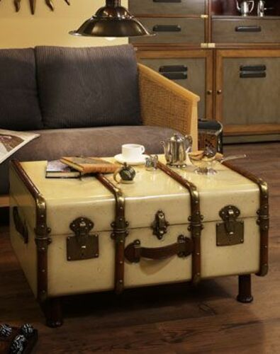 Stateroom Trunk Table <font color=a8bb35> Discontinued</font>