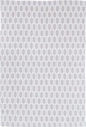 Terra Grey Woven Cotton Rug