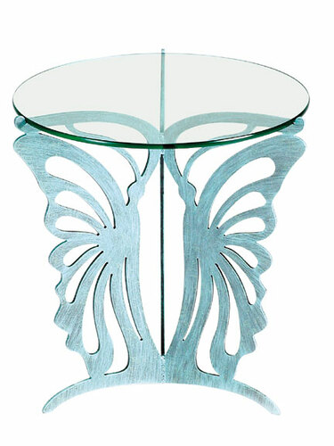 Metal Butterfly Table