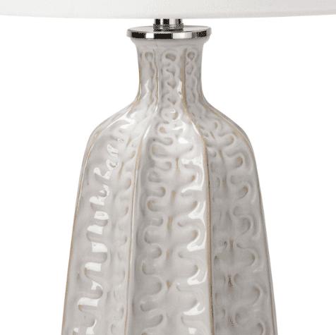Antigua Ivory Ceramic Table Lamp