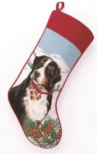 Barnese Mountain Dog Christmas Stocking<font color =a8bb35> Sold out</font>