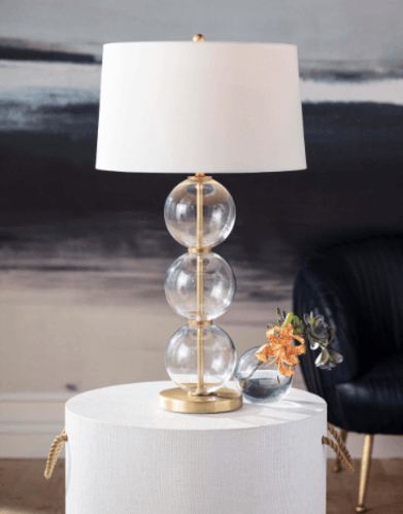 Camilla Glass Table Lamp