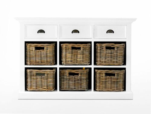 Classic Cottage Buffet with Baskets <font color=a8bb35>NEW</font>