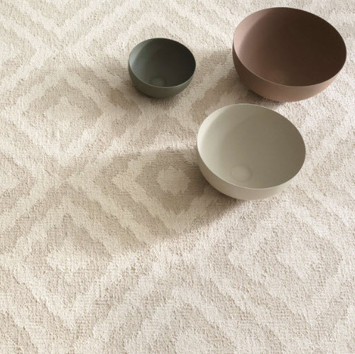 Clover Cement Cotton Woven Rug<font color=a8bb35> 20% off</font>