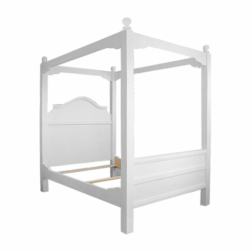 French Cottage Canopy Bed