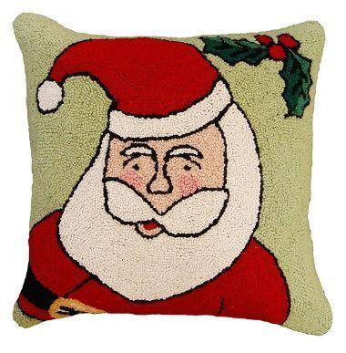 Happy Santa Christmas Pillow