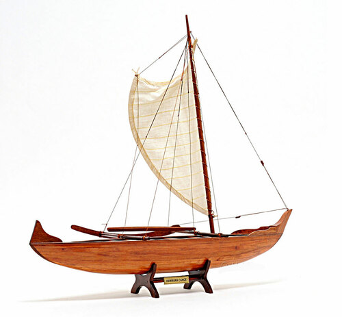 Hawaiian Canoe Replica Model