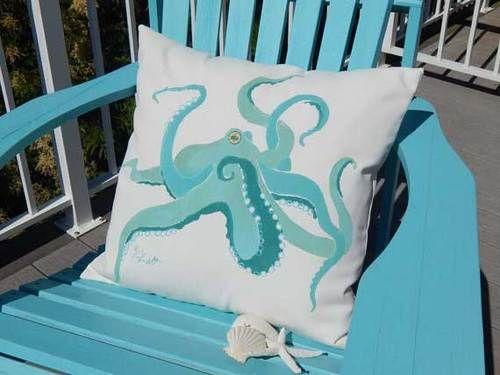 Kracken Outdoor Pillow