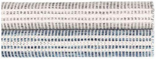 Malta Grey Woven Wool Rug