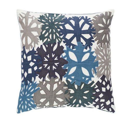 Mineral Applique Decorative Pillow