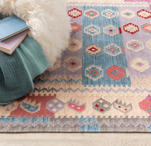 Monterey Kilim Woven Wool Rug