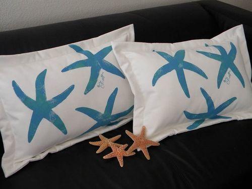 Sea Star Lumbar Pillow