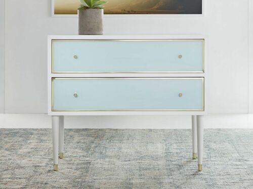 Seaglass Two Drawer Chest *Backorder