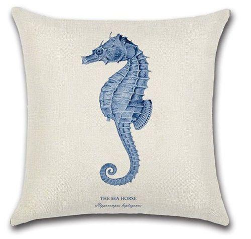 Seahorse Pillow<font color=cf2317> Sold out</font>