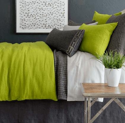 Silken Solid Grey Pillowcases