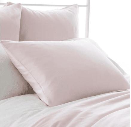 Silken Solid Slipper Pink Sham