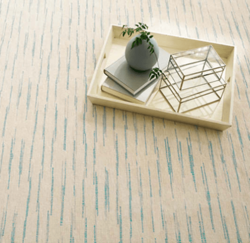 Solana Asiatic Blue Woven Cotton Rug