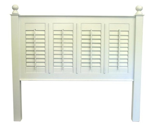 Straight Line Shutter Headboard or Bed