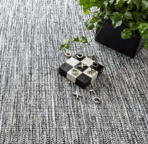 Tideline Black Indoor/Outdoor Rug