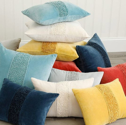 Topaz Pillow - Lake Blue
