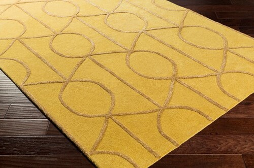 Urban Yellow Hand Tufted Rug *Backorder