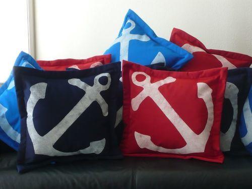 Anchors Aweigh Pillow