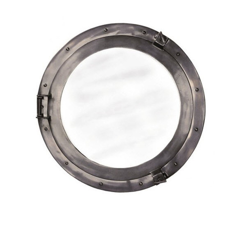 Bronze Cabin Porthole Mirror in Two Sizes