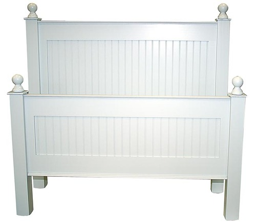 Classic Cottage Beadboard Bed Or Headboard For Sale