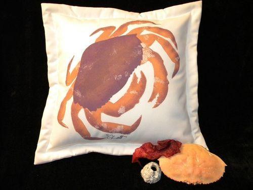 Fabio Crabio Pillow